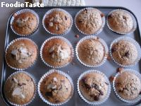 สูตรChocolate chip oat Muffin