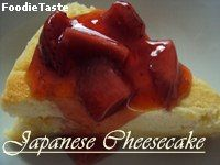 ==Japanese Cheesecake==