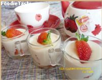 Milk Custard Strawberry