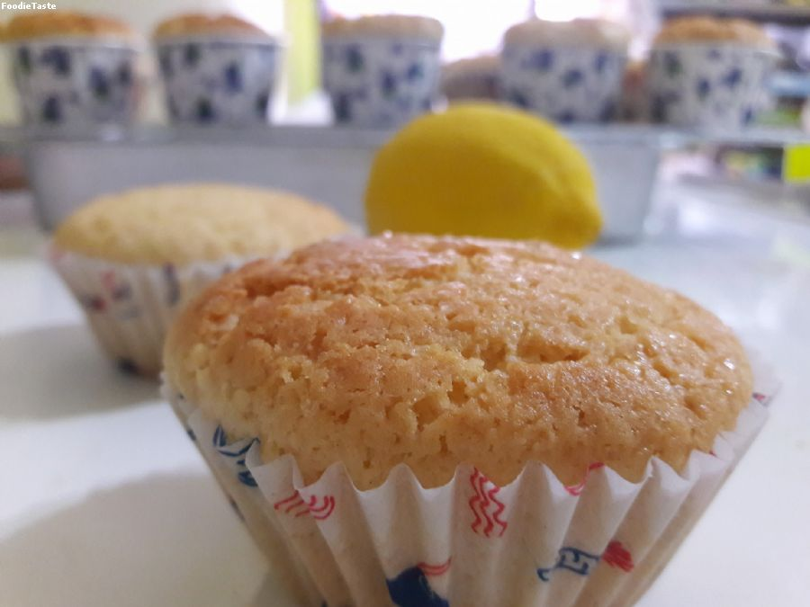 Muffin lemon