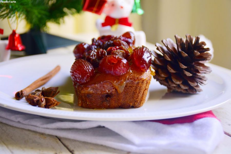Christmas fruit cake.