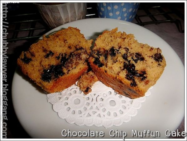Chocolate Chip Coffee Cake Muffin