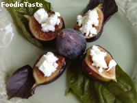 grill figs feta cheese