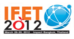 IFET 2012 at IMPACT Convention Center, Thailand during March 28-30, 2012